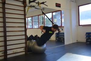 Preparazione atletica per il windsurf piegamenti