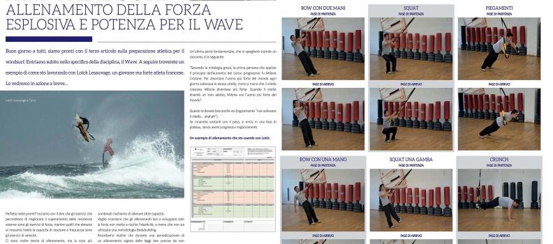 Preparazioni Atletiche per il windsurf